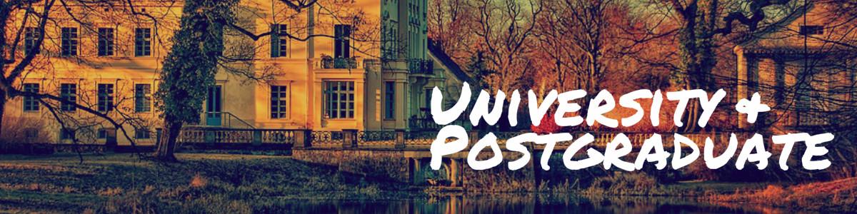 University & Postgraduation in Australia